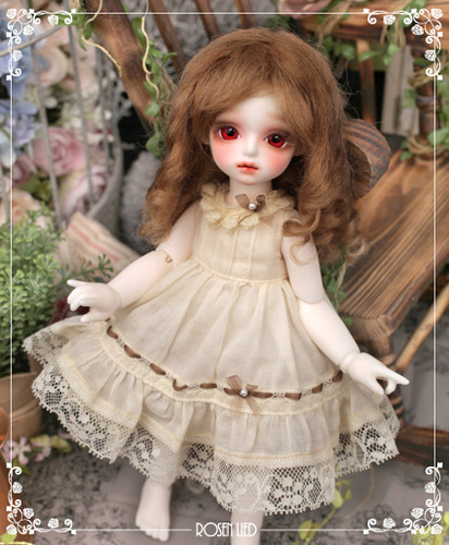 Mohair - Eliza roll (Ash blond)