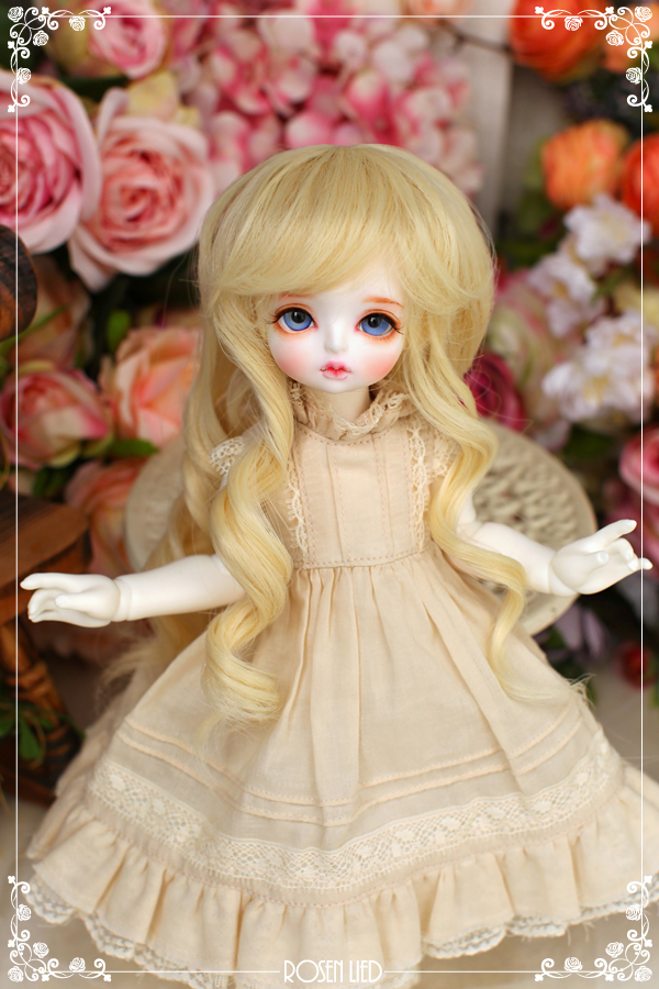Girlish curl wig (New HRF - Blond)