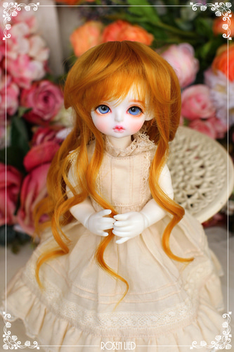 Girlish curl wig (New HRF - Sunny Blond)